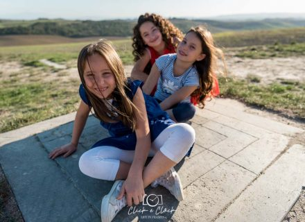 Children Photo Session: Martina, Margherita e Bianca